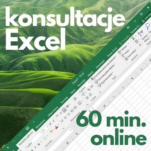 Konsultacje Microsoft Excel (60 min. online)