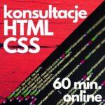 Konsultacje online HTML i CSS (60 min.)