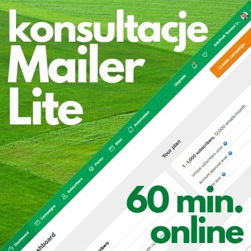 Konsultacje online MailerLite (60 min.)