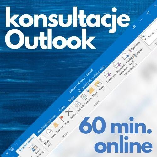 Konsultacje Microsoft Outlook (60 min. online)