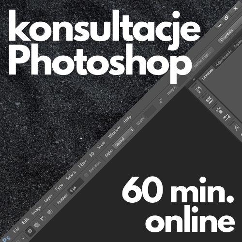 Konsultacje Adobe Photoshop (60 min. online)