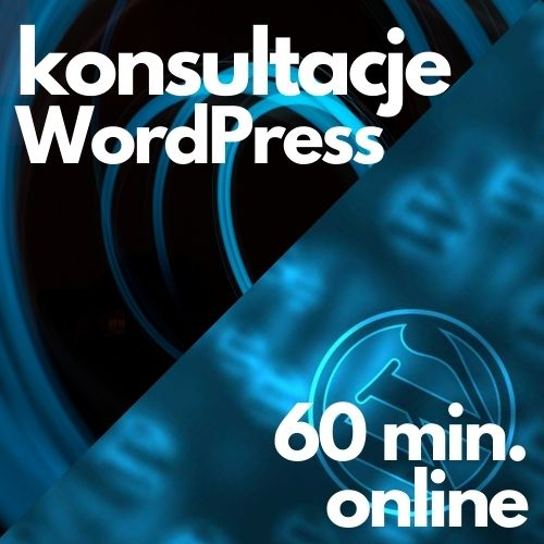 Konsultacje WordPress (60 min. online)