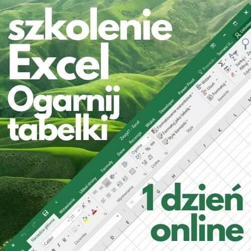 """Szkolenie online Microsoft Excel """"Ogarnij tabelki"""" (1 dzień)"""