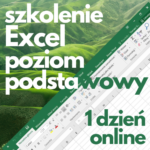 Szkolenie online Microsoft Excel podstawowy (1 dzień)