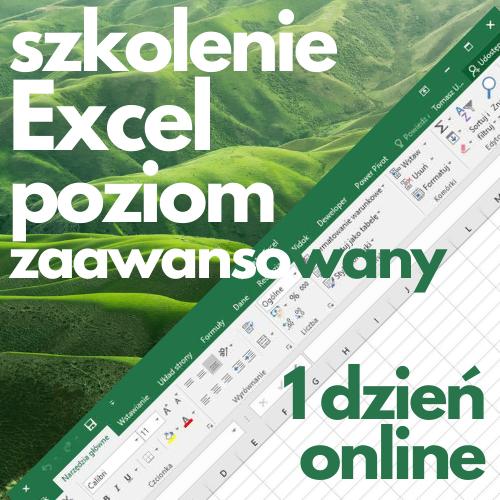 Szkolenie online Microsoft Excel zaawansowany (1 dzień)